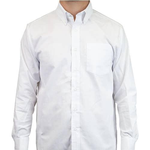 Camisa Oxford manga larga para Hombre